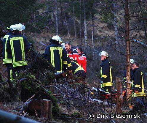 Unfall Im Wald