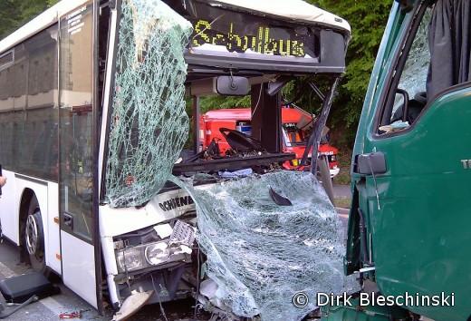 Schulbus Unfall Heute