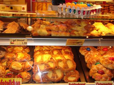 Bäcker Ostersonntag Offen